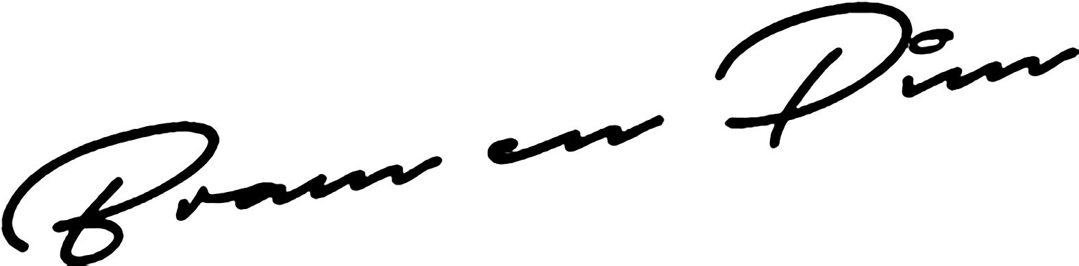 Handtekening Gasten van Hout